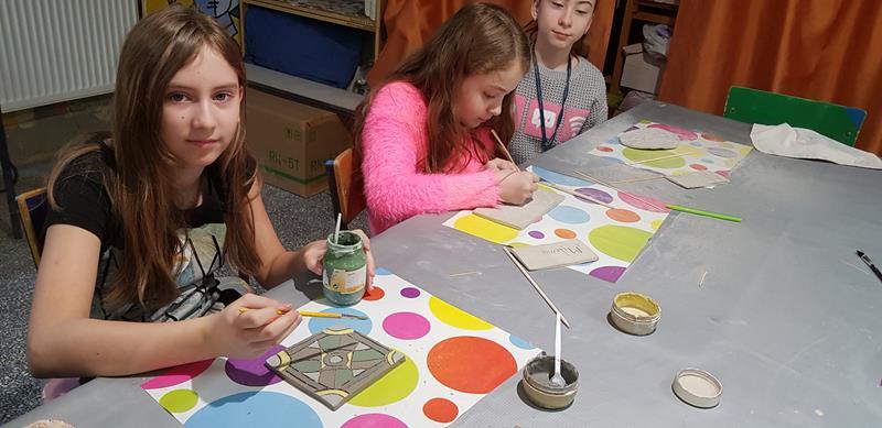 Zajęcia ceramiczne - prace uczniów