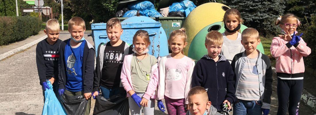 Sprzątanie świata klasa 2B