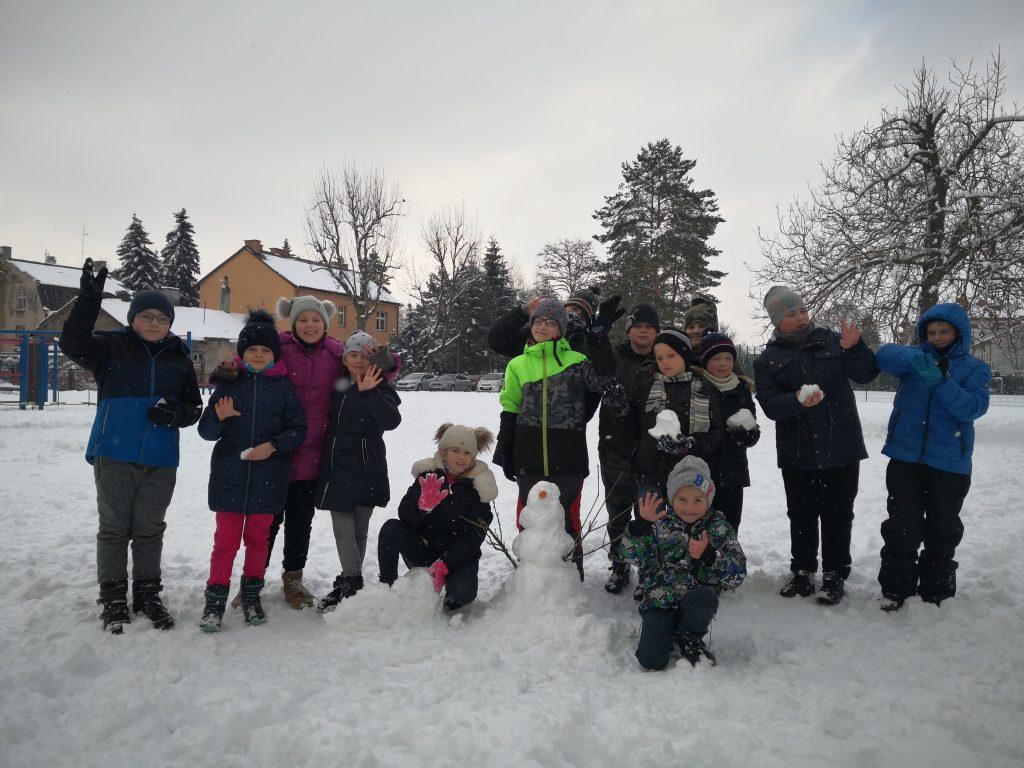 Zimowe zabawy IIIa