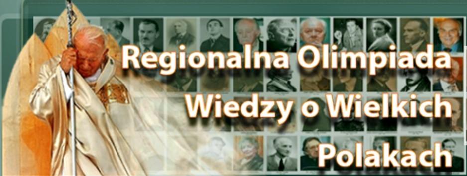Olimpiada wiedzy o wielkich Polakach