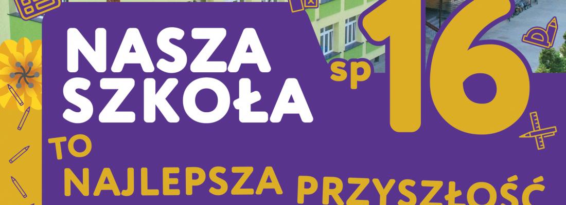 Plakat reklama szkoły