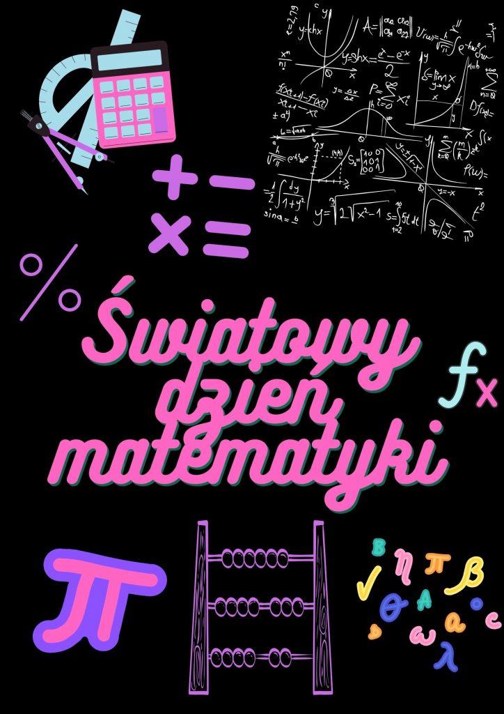 Matematyka est wszędzie plakaty