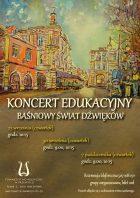 Koncert edukacyny plakat